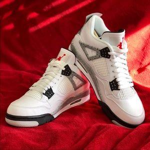 🆕 NIB Air Jordan 4 Retro OG Sneakers Mens SZ 8.5